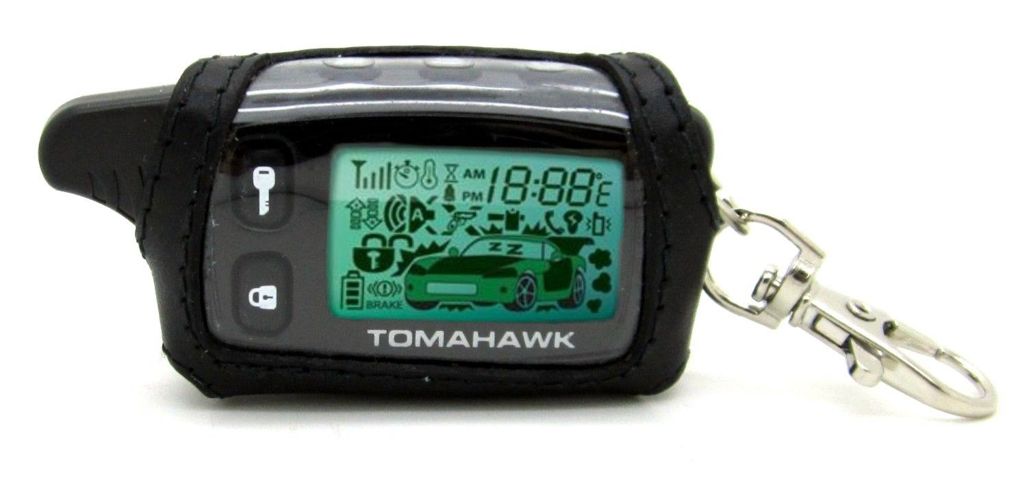 Брелок для сигнализации tomahawk 9030 с жк-дисплеем незаменим для того, чтобы вы всегда были уверены