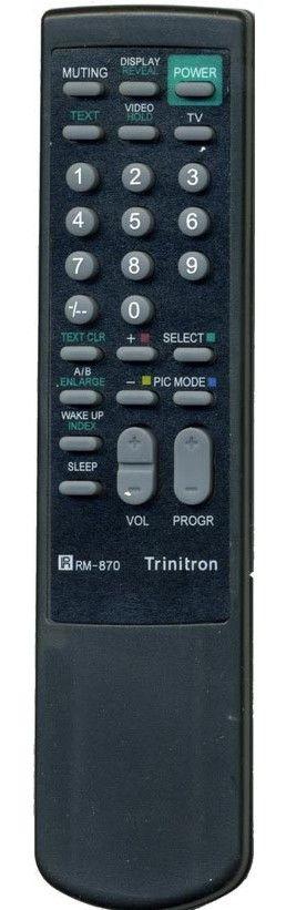 Пульт для Sony RM-870 (TV)