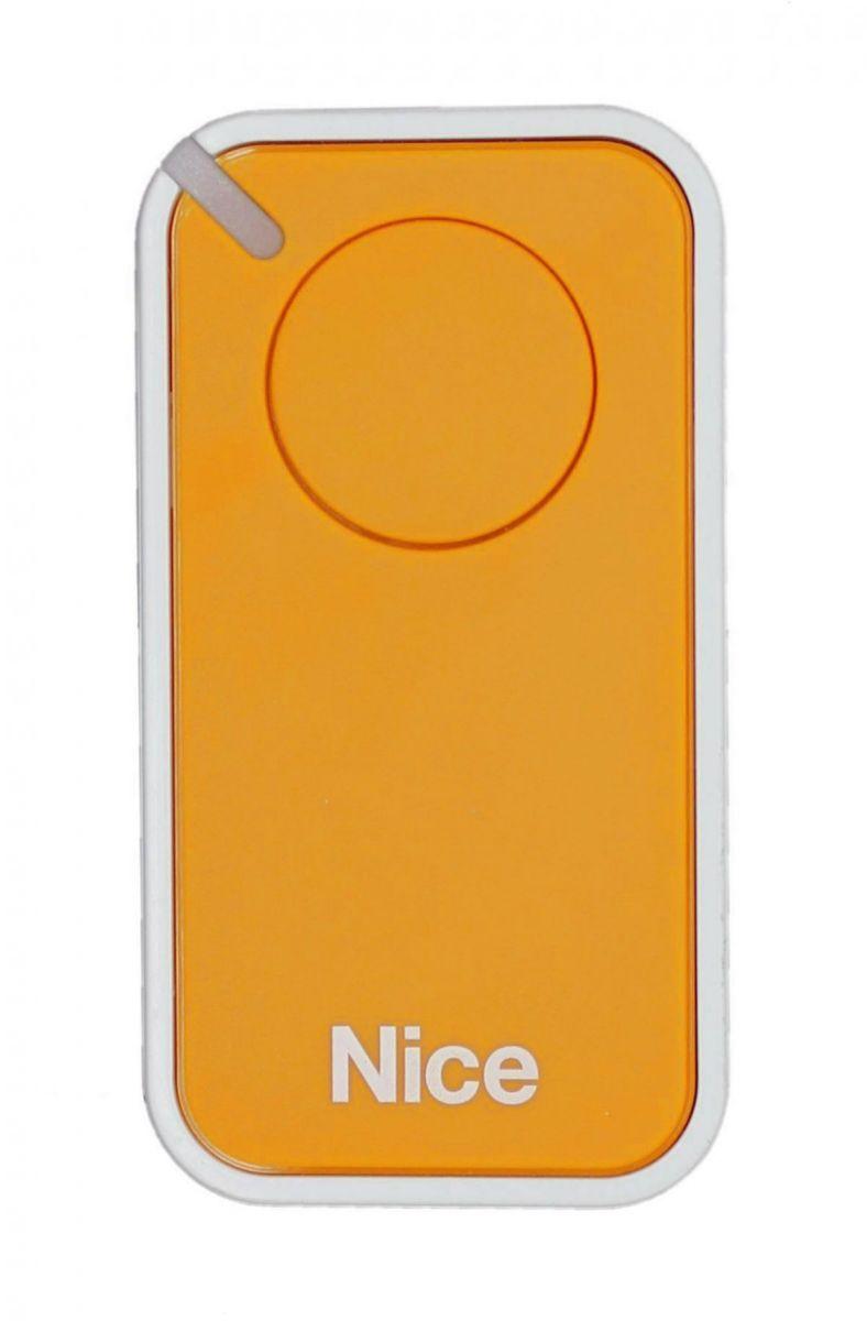 Пульт Nice INTI1Y, динамический код, желтого цвета.
