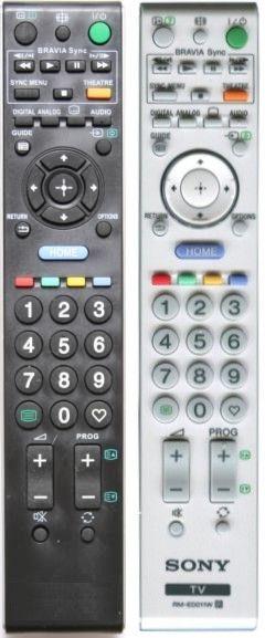 Пульт для Sony RM-ED011 (TV) (KDL-26V4500, KDL-32E4000, KDL-32V4500, KDL-32W4000K, KDL-37V4500, KDL-40W4500E, KDL-46W4000K, KDL-46W4500, KDL-52W5500)