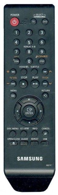 Пульт для Samsung 00071F заменяет также 00071L, 00071C и 00071H (AK59-00072F) (DVD) (DVD-P380K, DVD-P380KD, DVD-P380KT, DVD-P480K, DVD-P480KD, DVD-P480KT)
