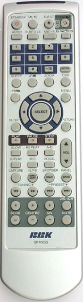 BBK DK 1005S (theater) (RC-78) (DK-929S, DK-1000S, DK-1005S, DK-1010S, 1015S, 1020S, 1030S, 1040S)
