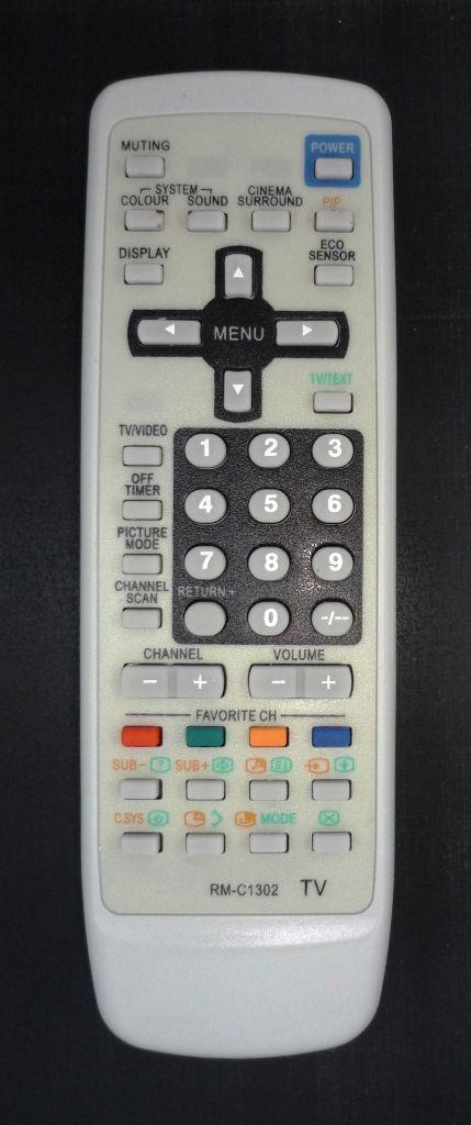 JVC RM-C1302 (TV) (AV-2137V1, AV-2537V1, AV-2937V1)