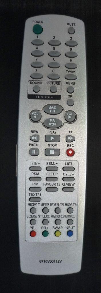 LG 6710V00112V (TV) (29FX4RMX)