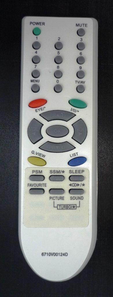 LG 6710V00124D (TV) (CT-14F95M