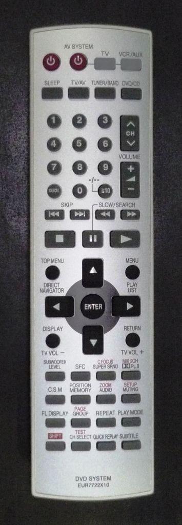 Panasonic EUR7722Х10 (home theater) (SC-HT520EE-S)