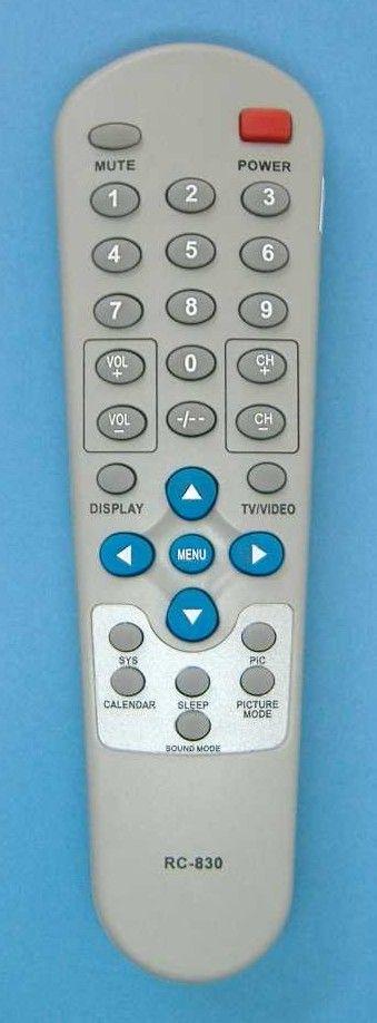 Пульт для Shivaki RC-830 (STV-2163, STV-2193, STV-2165, STV-2185TV)
