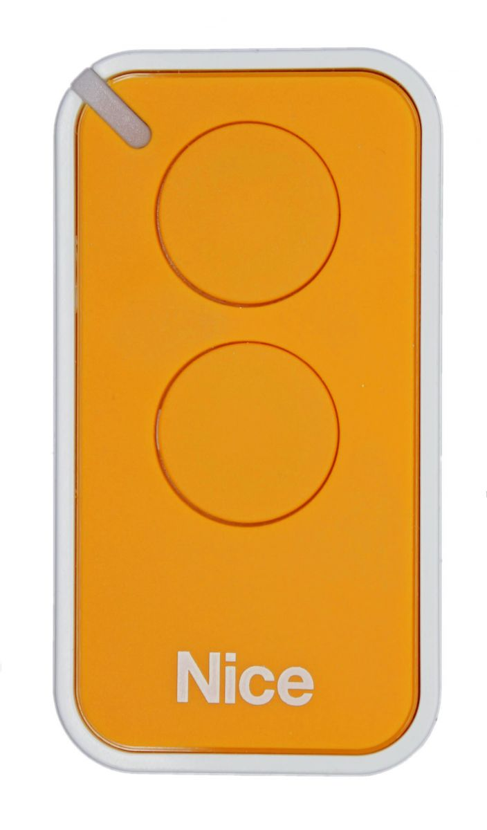 Пульт Nice INTI2Y, динамический код, желтого цвета.
