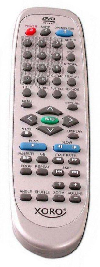 Пульт для Xoro JX-2006B (DVD) (HSD-400, HSR-311, HSD-401, HSD-400PRO, HSD-311PRO)