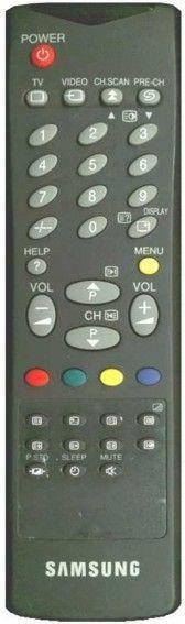 Пульт для SAMSUNG AA59-10032W (TV) (CB-5320T, CK-3373T, CK-3385ZR, CK-5085ZR, CK-5385ZR, CK-5385TR, CK-5385TBR)