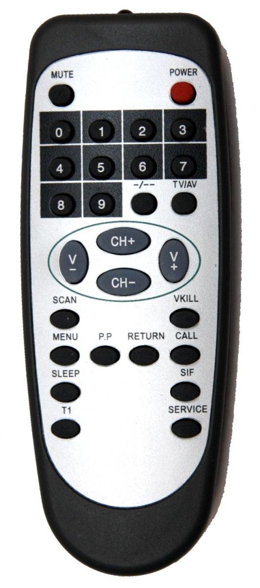 Пульт для Akai ALB-105 = Sitronics 1402 (TV)