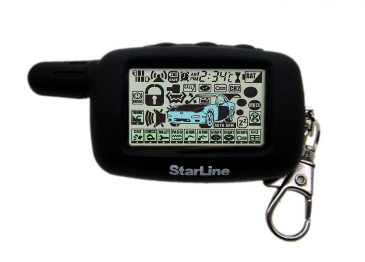 Чехол силиконовый для брелока STARLINE A4, STARLINE A6, STARLINE A9