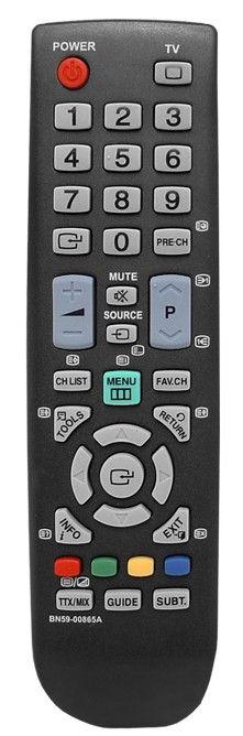 Пульт для Samsung BN59-00865A (TV) (2333HD, 933HD, LE-19B650T, LE-22B650T, LE-32B350F1W, LE-22B350 F2W, LE-26B450 C4 , LE-26B460B2W, LE-32B350, LE-32B450 C4, LE-32B460B2W, P2270HD, P2470HD, XL-2270HD, XL-2370HD)