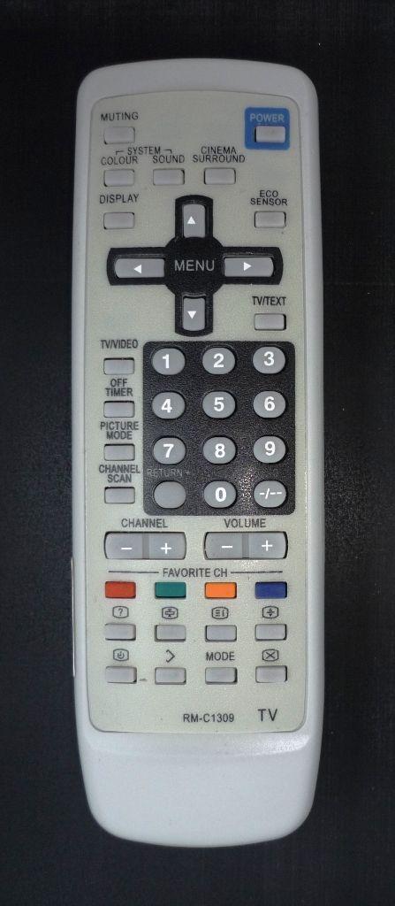 JVC RM-C1309 (TV) (AV-2132W1, AV-2932W1)