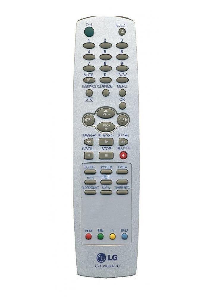 LG 6710V00077U (TV/VCR) ()