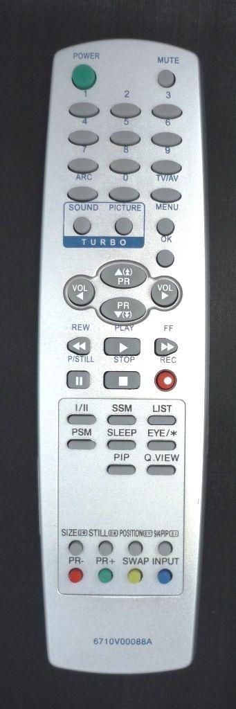 LG 6710V00088A (TV,VCR) (RT-29FA35VE, RT-29FA55RB, RT-29FB35RX, RT-29FB35VX, RT-29FB55, RT-29FB55R, RT-29FB55RB, RT-29FB55RE, RT-29FB55RP, RT-29FB55RQ, RT-29FB55RX, RT-29FB55V, RT-29FB55VB, RT-29FB75RB, RT-29FB75VQ, RT-29FD15R)