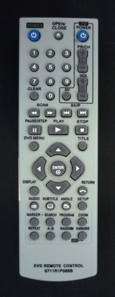 LG 6711R1P089B (DVDplayer+TV) (DGK-685X, DK-673X, DK-676X, DK-677X , DK-678X)