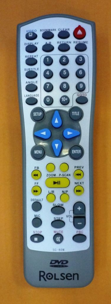 Rolsen SG-80M (DVD) (RDV-550, RDV-560, RDV-570)